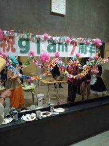 glam7周年パーティー