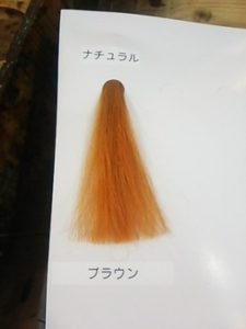 髪の毛サンプル